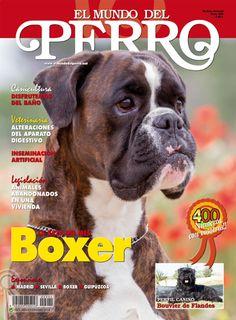 Portada El Mundo del Perro nº 400 de Julio de 2013, dedicado al Boxer .