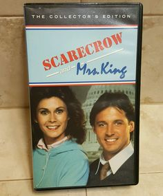 SCARECROW & MRS. KING VHS 2 Episodes LONG CHRISTMAS EVE 1983 & NOT A SPY 1984