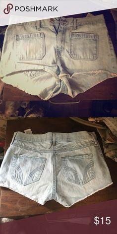 High rise shorts Hollister high rise shorts Hollister Shorts Jean Shorts