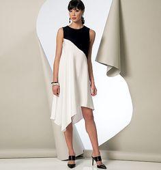 V9107, Misses 'túnica, vestido