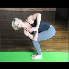 Twisted Chair Pose - metabolism excercises