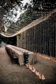 A moody dream garden wedding for a fashion forward couple at Palacio Villahermosa in Spain Wedding Reception Ideas, Rustic Wedding Decorations, Wedding Tables, Wedding Ceremony, Wedding Scene, Wedding Church, Tree Wedding, Wedding Receptions, Garden Wedding