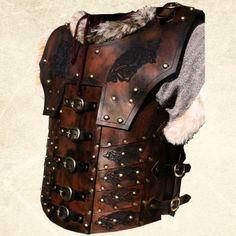 Deluxe Norgir Leather Body Armour