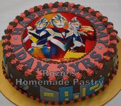 Ultraman Cake Picture