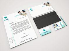 Branding, Imagen corporativa. Cliente: Geoclean® #portafolio3dmentes