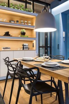 Located in the easily recognizable city of Barcelona, more specifically in the neighborhood of La Barceloneta, in Spain, this small apartment has a total area of only 48 square meters, which—despite being relatively small—is sufficient space for a family of two, and more-so when it's only used as a vacation home. The renovation was undertaken by architectural firm Egue y Seta, who wanted to remove the walls of the old..