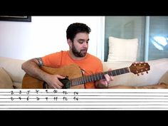 Guitar Lesson: How to Solo Using Harmonies - Tutorial w/ TAB Guitar Tips, Guitar Songs, Guitar Lessons, Acoustic Guitar, Fingerstyle Guitar, Guitar Scales, Guitar Tutorial, Soloing, Playing Guitar
