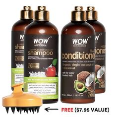 WOW Apple Cider Vinegar Shampoo and Conditioner Special Offer