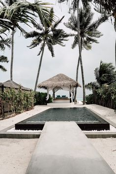 The layout of this modern pool allows for seamless indoor-outdoor living experiences as each pavilion is positioned around a large deck and swimming pool. Oh The Places You'll Go, Places To Travel, Travel Destinations, Pool Girl, Travel Around The World, Around The Worlds, Destination Voyage, Travel Goals, Wanderlust Travel