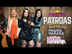 Marília Mendonça e Maiara e Maraisa Live As Patroas Completo sertanejo - YouTube Video Clip, Live, Youtube, Movies, Movie Posters, You Complete Me, Films, Film Poster, Cinema