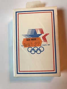 Bicycle 1984 Olympics Stars in Motion Playing Cards Deck Los Angelos Sealed   | eBay #collectable #playingcard #cards #collectible #collectors #vintage #olympics
