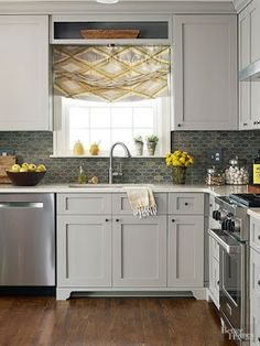 Stretch A Small Kitchen Space Without A Major Remodel. Check Out These  Tricks For Cabinetry, Color Schemes, Countertops, And More That Make A  Little Kitchen ...