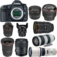 Recommended Lenses for Canon EOS 5D Mark III