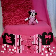 Etsy listing at https://www.etsy.com/listing/222268146/minnie-mouse-wooden-letters