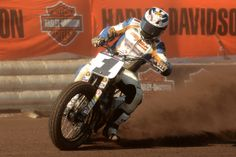 AMA Pro Flat Track Riders - Jared Mees #1