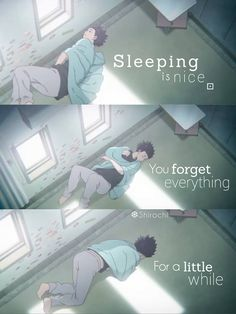Well not really. Dreams are a thing ya know but sometimes peaceful slumber is achieved. Anime:Koe no katachi Sad Anime Quotes, Manga Quotes, Whisper Quotes, Pinterest Instagram, A Silent Voice, Depression Quotes, Anime Life, Jolie Photo, I Love Anime