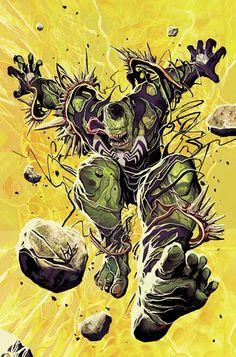 Spiderman Hulk Venom Mashup