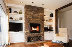 modele de foyer au bois - Recherche Google
