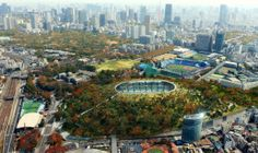 New National Stadium Japan Competition Unveils 11 Finalists  Dorell.Ghotmeh.Tane / Architects & A+Architecture