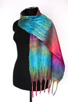 Felted Scarf, via Flickr.