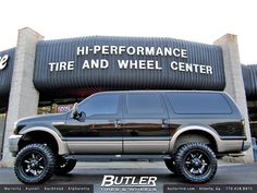 Ford Excursion 20in Fuel Dune on 35s