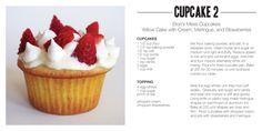 fruit rose: cup cake 2