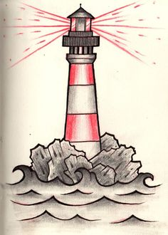 tattoo ideas on Pinterest | Lighthouse Tattoos, Compass and ...