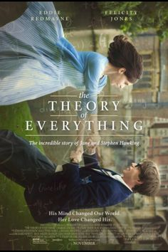 I want to see this movie!!! The Theory of Everything is coming out in November. Inspirational movie
