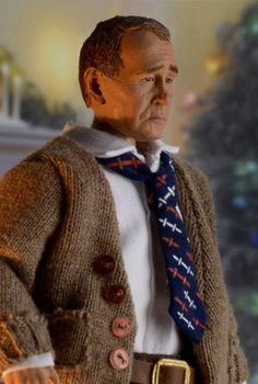 """A CHRISTMAS STORY - 8"""" SCALE CLOTHED FIGURE - THE OLD MAN"""