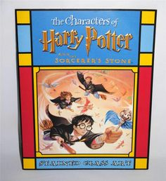 Harry Potter and the Sorcerer's Stone Stained Glass Art 2001 Paperback