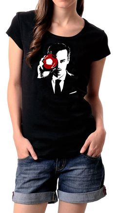 awesome Moriarty IOU tee – click-thru for +1 (a matching Sherlock version) | by HLstore on Etsy