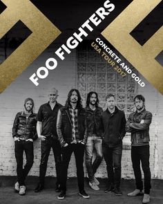 """69.3k Likes, 1,430 Comments - Foo Fighters (@foofighters) on Instagram: """"CONCRETE AND GOLD USA TOUR dates on foofighters.com"""""""