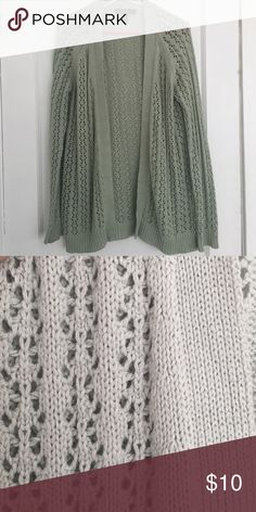 Forever 21 crochet sweater So cute with jeans or a dress. Very warm but breathable Forever 21 Sweaters Cardigans