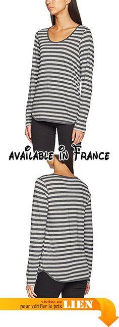 Sandwich, T-Shirt Femme, Multicoloured (Grey Pebble Heather), 38.  #Apparel #SHIRT