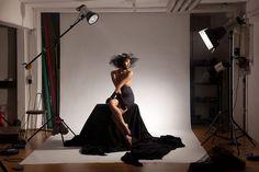 Glamour Light Setup Studio Making of Photography