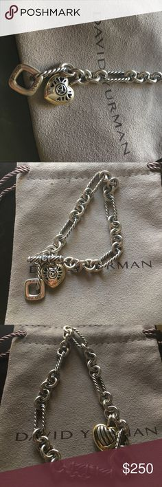 Reposhing David Yurman Bracelet. I lost my first one and purchase this one. Fell in love with the bracelet so I wanted another one. Well I found it! No need for 2. Not taking any offers so please don't ask! No I'm not trading anything.  David Yurman Jewelry Bracelets
