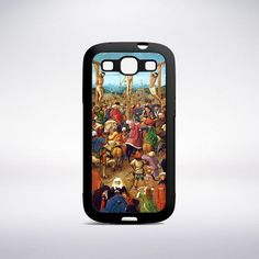 Jan Van Eyck - The Crucifixion (The Last Judgment) Phone Case
