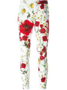 Shop Dolce & Gabbana daisy and poppy print trousers in Auzmendi from the world's best independent boutiques at farfetch.com. Shop 400 boutiques at one address.