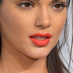 Overlining Your Lips ~ line juuussst barely over natural lip line for a full, but still natural look.