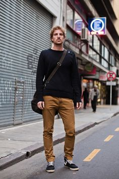 The men in Buenos Aires are often just as style savvy as the women. OTC bloggers refreshingly pick up on street style of both genders.
