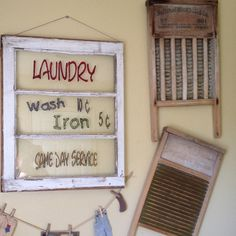50 Rustic Farmhouse Laundry Room Decor Ideas - Home Decor Laundry Decor, Laundry Signs, Laundry Room Design, Laundry In Bathroom, Laundry Area, Bathroom Signs, Bathroom Ideas, Laundry Shop, Bathroom Colors