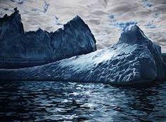 beautiful icebergs -