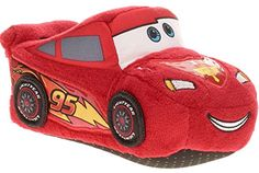 Disney Boys Lightning McQueen Cars Slippers RedBlack 910 M US Toddler >>> Details can be found by clicking on the image.