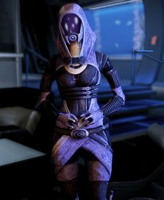 Tali (Mass Effect) Cosplay.