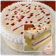 Citromos-málnás túrótorta Cheesecake Recipes, Dessert Recipes, Hungarian Desserts, Lemon Raspberry Cheesecake, Cold Desserts, Biscuit Cake, Pastry Cake, Sweet And Salty, Sweet Bread