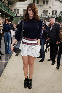 Gemma Arterton au défilé Chloé