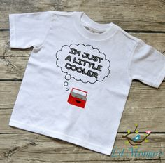 I'm Just a Little Cooler  Boys Toddler vinyl by LilMongosBoutique