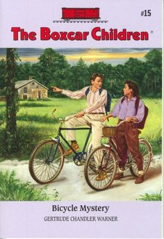 Bicycle Mystery (The Boxcar Children Mysteries #15) by Gertrude Chandler Warner, AR 3.2