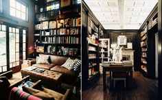In my future home, there will be no need for paint, wallpaper, or other wall decor. There will be only bookshelves.
