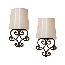 It S Exciting Lighting 2pk Battery Ed Wall Sconce